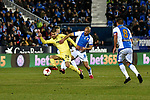 Leganes vs Villarreal Ramiro Guerra during Copa del Rey match. 20180104.