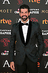 Miguel Angel Munoz attends 30th Goya Awards red carpet in Madrid, Spain. February 06, 2016. (ALTERPHOTOS/Victor Blanco)