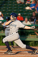 Greg Sexton (35) of the Charlotte Stone Crabs during a game vs. the Daytona Cubs June 1 2010 at Jackie Robinson Ballpark in Daytona Beach, Florida. Charlotte won the game against Jupiter by the score of 4-1.  Photo By Scott Jontes/Four Seam Images