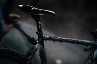 post-ride clean<br /> <br /> U23 Men's race<br /> UCI CX World Cup Namur / Belgium 2017