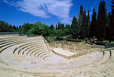 Greece, Dodecanese, Kos Island, Kos-Town: Roman Odeon | Griechenland, Dodekanes, Insel Kos, Kos-Stadt: roemisches Theater