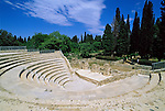 Greece, Dodecanese, Kos Island, Kos-Town: Roman Odeon | Griechenland, Dodekanes, Insel Kos, Kos-Stadt: roemisches Theater