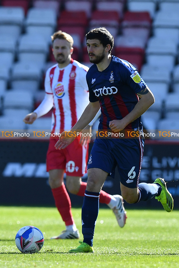 Anthony O'Connor of Bradford City AFC during Stevenage vs Bradford City, Sky Bet EFL League 2 Football at the Lamex Stadium on 5th April 2021