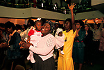 Kensington Temple at Pentecostal church Sunday worship in the Notting Hill area of London 1990s.