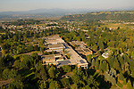 Aerial View of Mt. Hood Community College, Gresham, Oregon