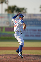 April 9th 2010: Chris Rusin of the Daytona Cubs Pitches in the game against the Brevard County Manatees at Jackie Robinson Ballpark in Daytona Beach, FL (Photo By Scott Jontes/Four Seam Images)