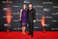 Picture by Simon Wilkinson/SWpix.com 01/122019 -  Rose d'Or 2019 Award Ceremony, red carpet arrivals and winners. Kings Place, London<br /> - Ricky Gervais