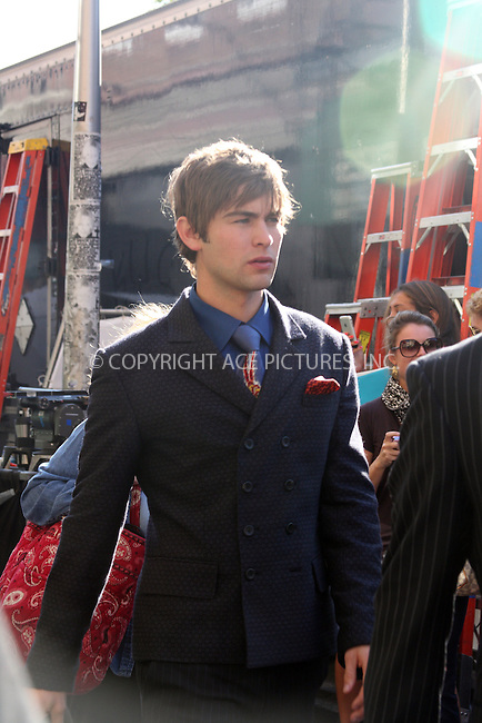 WWW.ACEPIXS.COM . . . . .  ....September 1, 2009. New York City.....Actor Chace Crawford on the set of Gossip Girl on September 1, 2009 in New York City.......Please byline: JOANNE JUELE - ACEPIXS.COM.... *** ***..Ace Pictures, Inc:  ..Philip Vaughan  (646) 769 0430..e-mail: info@acepixs.com..web: http://www.acepixs.com