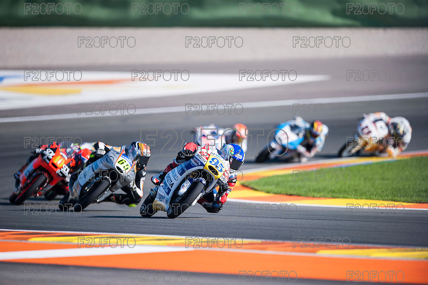 VALENCIA, SPAIN - NOVEMBER 8: Jules Danilo during Valencia MotoGP 2015 at Ricardo Tormo Circuit on November 8, 2015 in Valencia, Spain