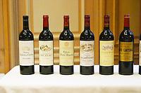 Lurton made wines: Couhins, Cruzeau, Barbe Blanche, Rochemorin, Brane Cantenac, Dauzac ... Bordeaux, France