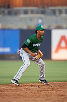 Daytona Tortugas Jose Garcia (13) during a Florida State League game against the Tampa Tarpons on May 17, 2019 at George M. Steinbrenner Field in Tampa, Florida.  Daytona defeated Tampa 8-6.  (Mike Janes/Four Seam Images)