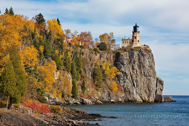 Split Rock Lighthouse, Autumn
