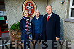 Caretaker, Denis Callaghan retiring from Moydewell NS on Monday standing Moire Quinlan (Principal) and Cllr Jim Finucane (Mayor of Tralee).