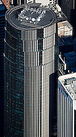 aerial photograph of the 101 California Street skyscraper, San Francisco, California
