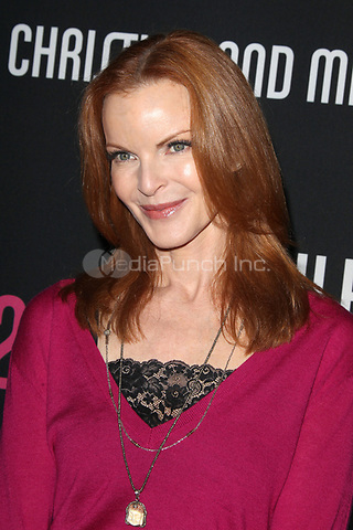 SANTA MONICA, CA - OCTOBER 27:  Marcia Cross at the 8th annual Pink Party hosted by Michelle Pfeiffer to benefit Cedars-Sinai Women's Cancer Program at HANGAR:8 on October 27, 2012 in Santa Monica, California. Credit: mpi21/MediaPunch Inc.
