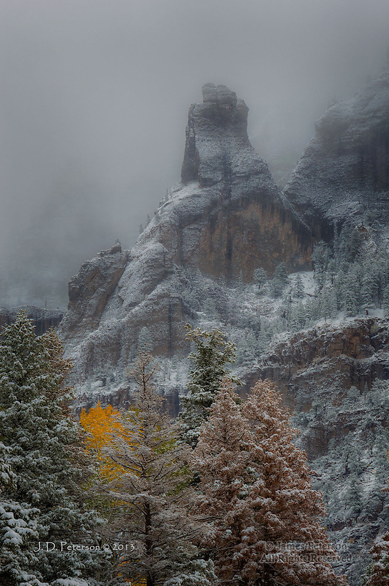 Early Winter Storm #2, San Juan Mountains, Colorado