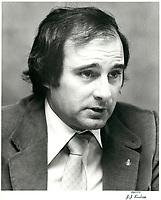Jacques Leonard<br /> , Nov 1979<br /> <br /> PHOTO :   Agence Quebec Presse