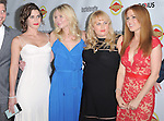Lizzy Caplan, Kirsten Dunst , Rebel Wilson and Isla Fisher attends The Premiere of Bachelorette at The Arclight Theatre in Hollywood, California on August 23,2012                                                                               © 2012 DVS / Hollywood Press Agency
