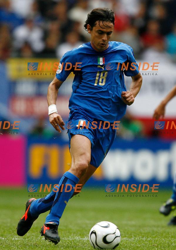 HAmburg 22/6/2006 World Cup 2006.Repubblica Ceca Italia 0-2 0-2.Photo Andrea Staccioli Insidefoto.Filippo Inzaghi Italy