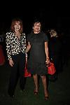 GIANNA TERZI DI SANT'AGATA CON  MARTINE BERNHEIM ORSINI<br /> FESTA RIUNIFICAZIONE  A VILLA ALMONE RESIDENZA AMBASCIATORE TEDESCO -  ROMA  OTTOBRE 2008