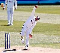 Yorkshire's Dominic Bess bowls during Kent CCC vs Yorkshire CCC, LV Insurance County Championship Group 3 Cricket at The Spitfire Ground on 16th April 2021