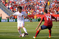 David Silva (21) of Spain. The men's national team of Spain (ESP) defeated the United States (USA) 4-0 during a International friendly at Gillette Stadium in Foxborough, MA, on June 04, 2011.