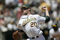 Mark Mulder. Baseball: Pittsburgh Pirates vs Oakland Athletics. Oakland, CA 6/13/2004 MANDATORY CREDIT: Brad Mangin