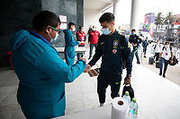 13th October 2020; National Stadium of Peru, Lima, Peru; FIFA World Cup 2022 qualifiers; Peru versus Brazil; Philippe Coutinho of Brazil arrives at National Stadium of Peru