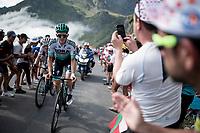 Patrick Konrad (AUT/Bora-Hansgrohe) up the Tourmalet (HC/2115m/19km @7.4%)<br /> <br /> Stage 14: Tarbes to Tourmalet(117km)<br /> 106th Tour de France 2019 (2.UWT)<br /> <br /> ©kramon