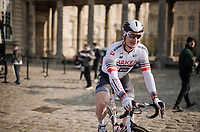 André Greipel (DEU/Arkéa-Samsic) at the start<br /> <br /> 117th Paris-Roubaix 2019 (1.UWT)<br /> One day race from Compiègne to Roubaix (FRA/257km)<br /> <br /> ©kramon