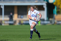 Poppy Cleall of England during the Guinness Six Nations match between England Women and Scotland Women at Castle Park Stadium, Doncaster, England on 3 April 2021. Photo by Thomas Gadd / PRiME Media Images.