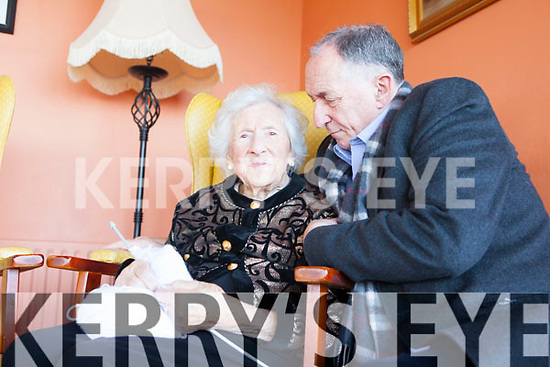 TV STAR: Lally Lawlor, pictured with her son Tom Lawlor and grandmother to Tom Vaughan Lawlor AKA Nidge from Love Hate, will be one of the first people to appear on the new UTV Channel on new Years Day as part of a documentary presented by Pat Kenny.