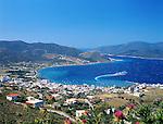 Greece, Central Greece, Island Evia, Marmari: town at Southwest coast | Griechenland, Mittelgriechenland, Insel Euboea - heute Évia genannt, Marmari: Stadt an der Suedwestkueste der Insel