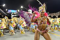 SAO PAULO, SP, 19 DE FEVEREIRO 2012 - CARNAVAL SP -  AGUIA DE OURO -Valeska Popozuda. Desfile da escola de samba Aguia de Ouro na segunda noite do Carnaval 2012 de São Paulo, no Sambódromo do Anhembi, na zona norte da cidade, neste domingo.(FOTO: ADRIANO LIMA  - BRAZIL PHOTO PRESS).