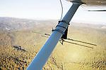 Mountain Lion (Puma concolor) tracking antenna used during aerial telemtry, Santa Cruz Puma Project, Santa Cruz Mountains, California