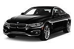2018 BMW 4 Series 430i 2 Door Coupe angular front stock photos of front three quarter view