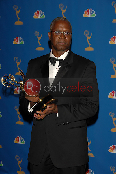 Andre Braugher<br />in the Press Room at the 58th Annual Primetime Emmy Awards. The Shrine Auditorium, Los Angeles, CA. 08-27-06<br />Scott Kirkland/DailyCeleb.com 818-249-4998