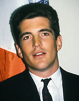 John F. Kennedy Jr. 1990 Photo by Adam Scull-PHOTOlink.net