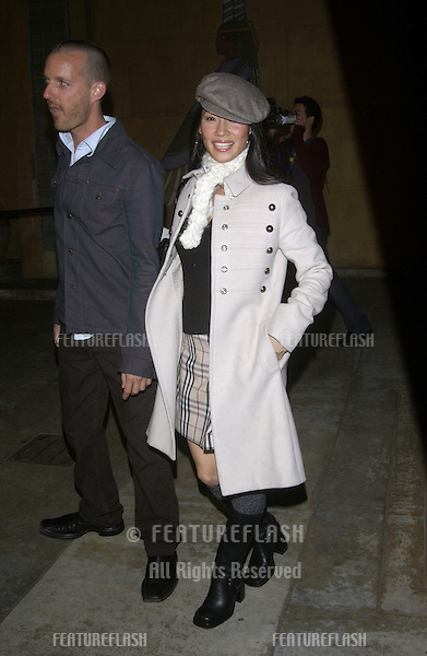 Actress LUCY LIU at the Los Angeles premiere of Willard..March 12, 2003.© Paul Smith / Featureflash