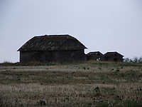 Old barns and farmhouses in the region of Smoky Lake, Alberta.