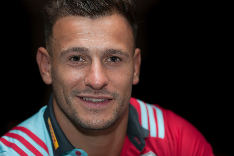Danny Care, captain of Harlequins, during the Aviva Premiership Rugby launch at Twickenham Stadium on Thursday 25 September 2016 (Photo by Rob Munro/Stewart Communications)