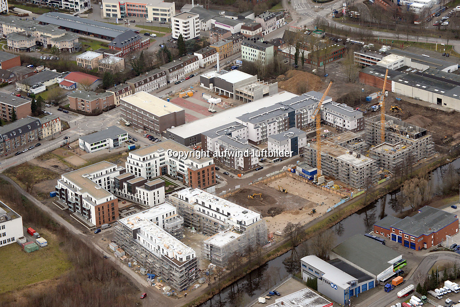 Glasblaeserhoefe: EUROPA, DEUTSCHLAND, HAMBURG, (EUROPE, GERMANY), 07.02.2016: Bergedorf, Glasblaeserhoefe,