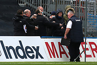 Gillingham Manager, Steve Evans, speaks to the local media after the match during Gillingham vs Oxford United, Sky Bet EFL League 1 Football at the MEMS Priestfield Stadium on 10th October 2020