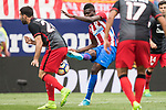 Thomas Teye Partey (C) of Atletico de Madrid in action during their La Liga match between Atletico de Madrid vs Athletic de Bilbao at the Estadio Vicente Calderon on 21 May 2017 in Madrid, Spain. Photo by Diego Gonzalez Souto / Power Sport Images