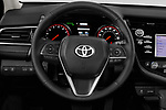 Car pictures of steering wheel view of a 2018 Toyota Camry XSE 4 Door Sedan Steering Wheel