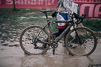 'let's go clean that bike now...' <br /> <br /> Men's Race<br /> Belgian National CX Championschips<br /> Kruibeke 2019