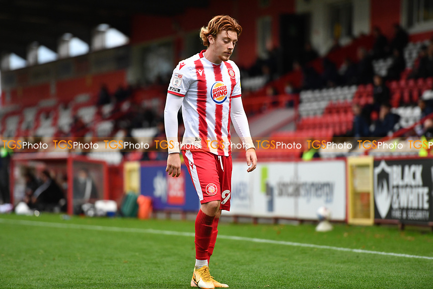 Arthur Read of Stevenage FC during Stevenage vs Bolton Wanderers, Sky Bet EFL League 2 Football at the Lamex Stadium on 21st November 2020