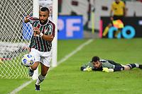 2nd June 2021; Maracana Stadium, Rio de Janeiro, Brazil; Copa do Brazil, Fluminense versus Red Bull Bragantino; Samuel Xavier of Fluminense chases the loose ball along the goal line