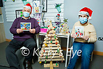 Noreen Maguire and Dan O'Connor at the Crafts and Christmas Gift sale in An Riocht organised and Run by St John of Gods in Castleisland on Monday.