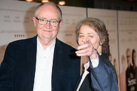 """Jim Broadbent and Charlotte Rampling<br /> arriving for the premiere of """"The Sense of an Ending"""" at the Picturehouse Central, London.<br /> <br /> <br /> ©Ash Knotek  D3244  06/04/2017"""